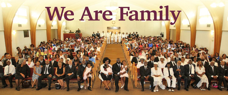 Saint Rest Baptist Church – We Are Family